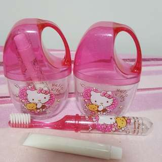 Hello Kitty Toddler Toothbrush Sets