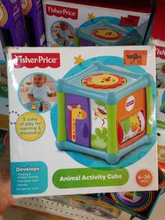 Fisher Price Animal Activity Cube Clearance Sale
