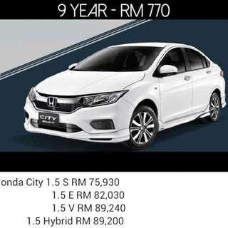 Honda City 1.5 2018
