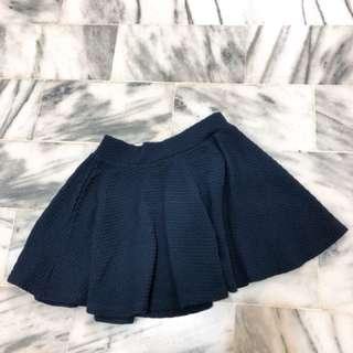 深藍色短裙 M