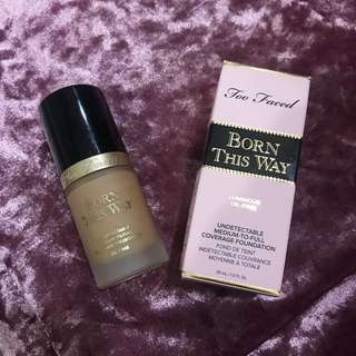 Too Faced Born This Way Foundation Shade Warm Beige