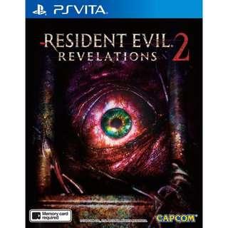 Resident Evil Revelations 2 PS Vita