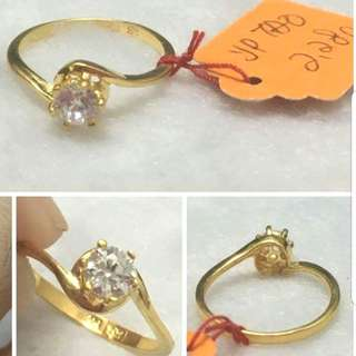 916 Gold Adult Ring engagement