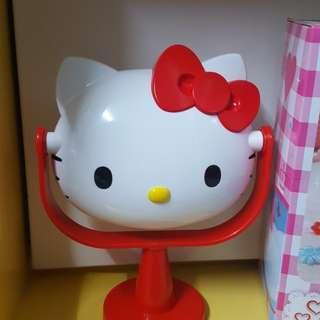 Hello Kitty 頭型 枱鏡