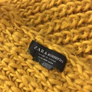 ZARA 針織圍巾