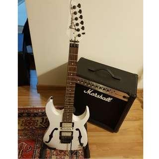 PGM3 Ibanez Guitar - White