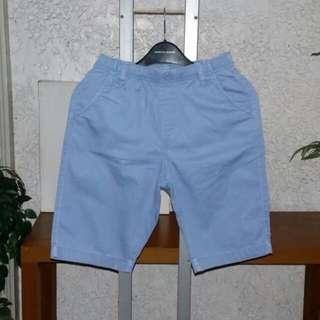Uniqlo Powder Blue Denim Shorts Size L