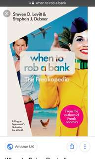 [Selling] When to rob a bank - The Freakopedia