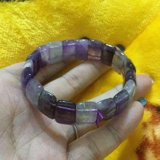 夢幻紫水晶手排