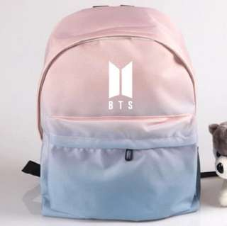 BTS school bag two tone