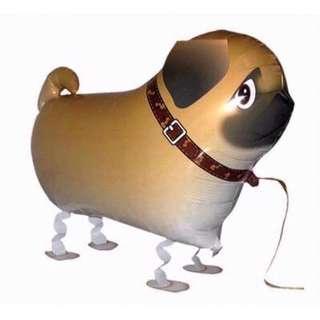 Pug Walking Animal Balloon