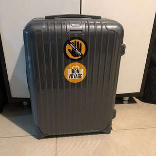 Luggage Rimowa Cabin with warranty and receipt