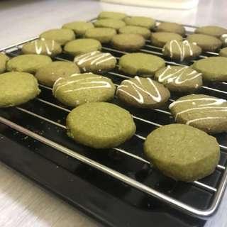 自家製-綠茶曲奇餅