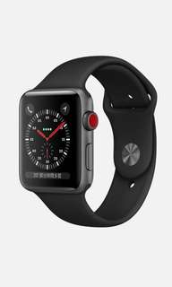 收全新Apple Watch series 3