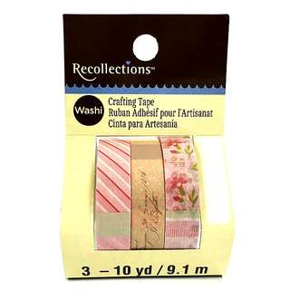 Pink Patchwork Washi Tape by Recollections