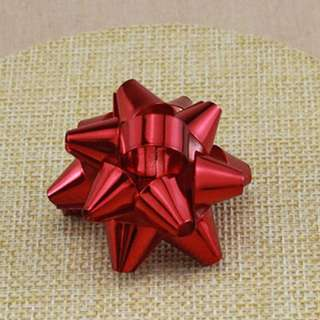 Unique Red Gift Ribbon Bow Brooch - 1 piece only!!