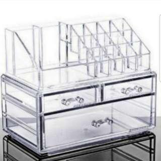 Acrylic Make Up Organizer Box