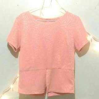 Baju wanita pink