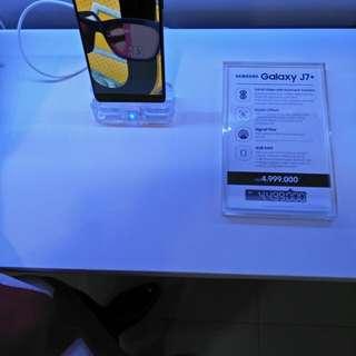 Samsung J7 Plus Promo Cashback Dicicil Tanpa Kartu Kredit