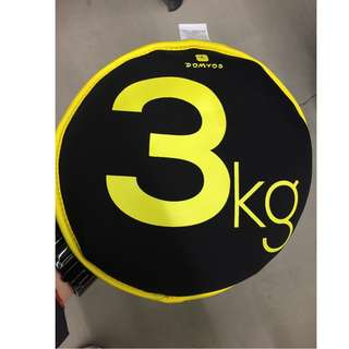 Sand Disc 3 Kg (Yellow) 沙袋片 3 Kg(黃色)