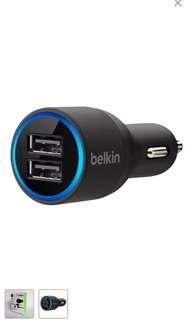 BELKIN 2 Port USB Car Charger