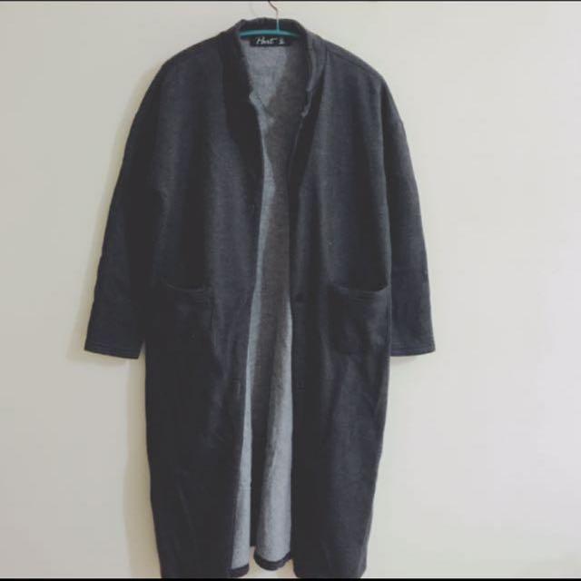 中性外套 大衣 長版外套