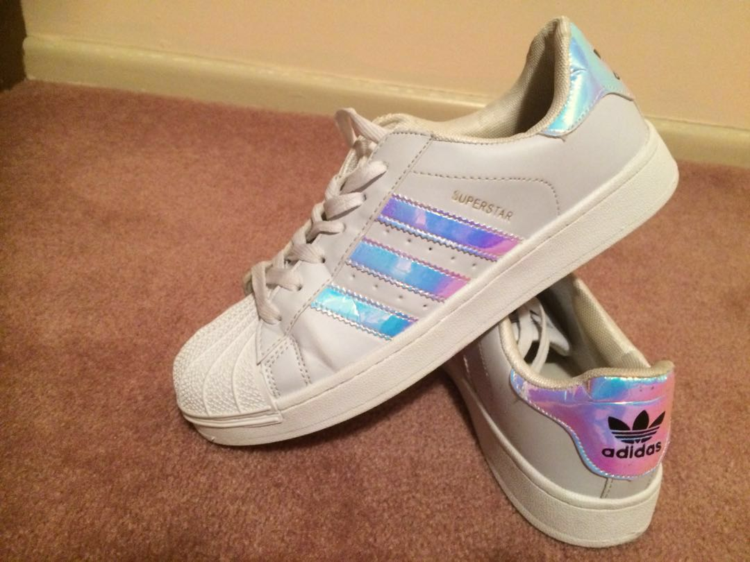 Adidas holographic superstar