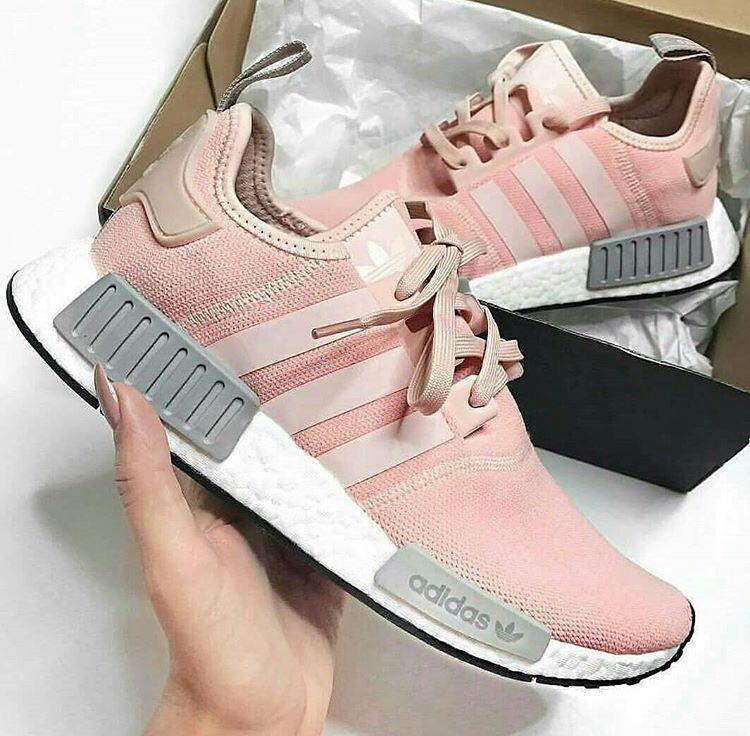 Adidas NMD R1 Pink Grey Woman, Women's