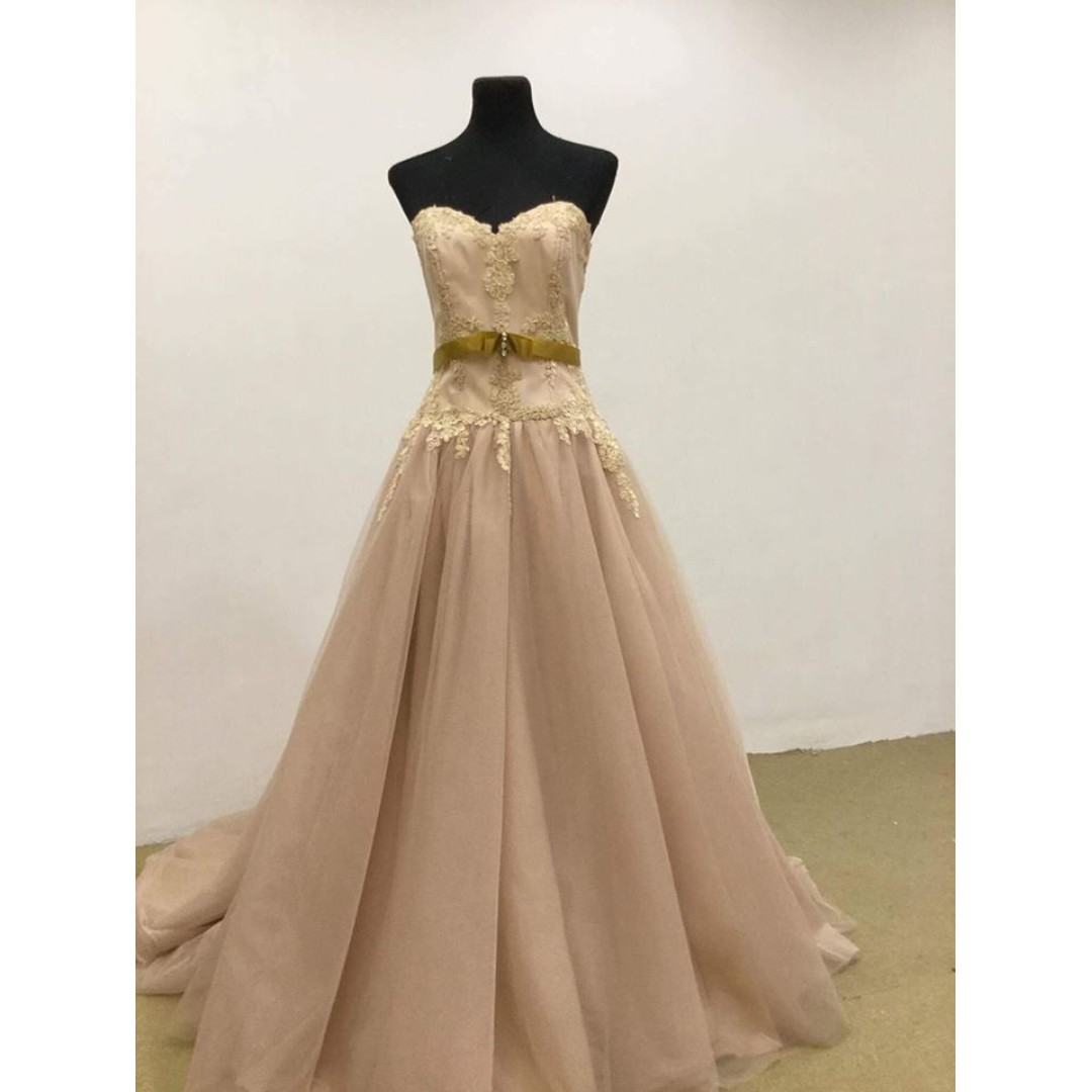 Angel Gown, Women\'s Fashion, Clothes on Carousell