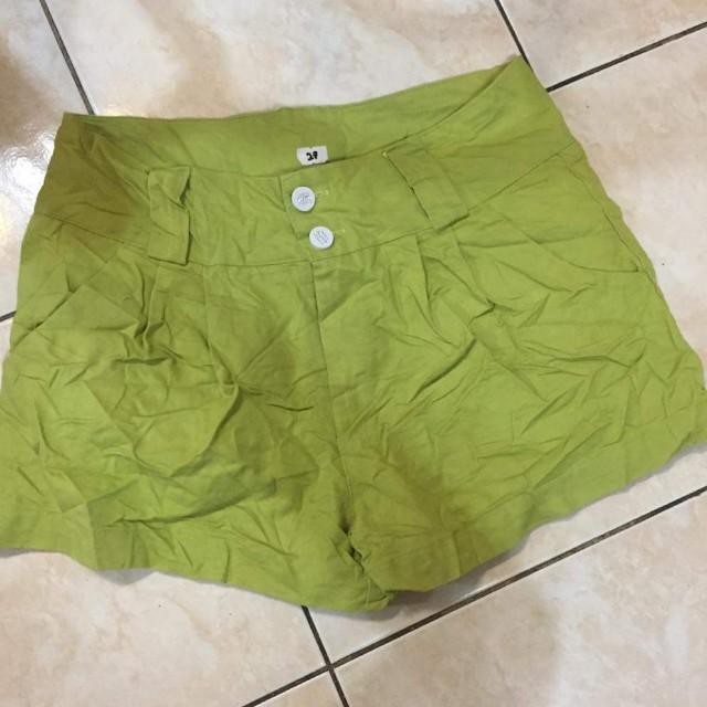 Apple Green Short