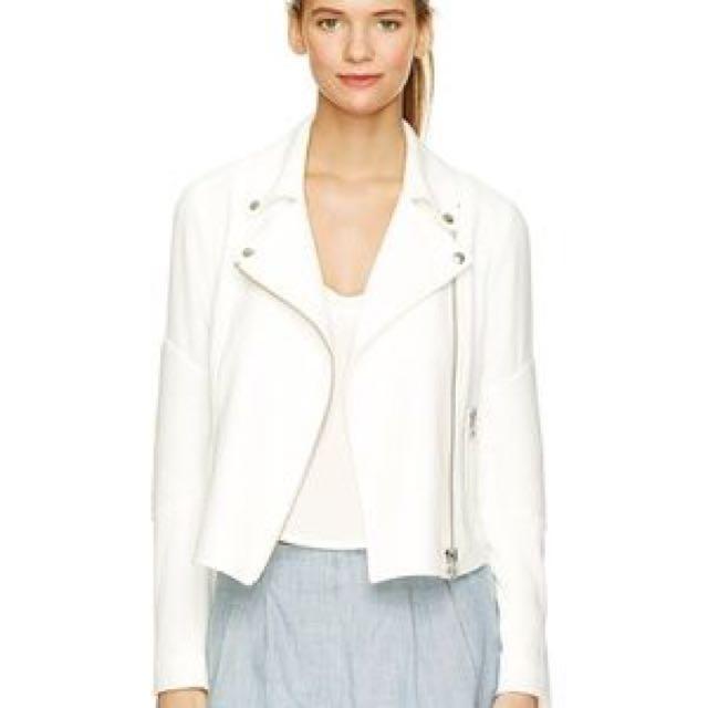 Aritzia Montesson Jacket in White Size 4