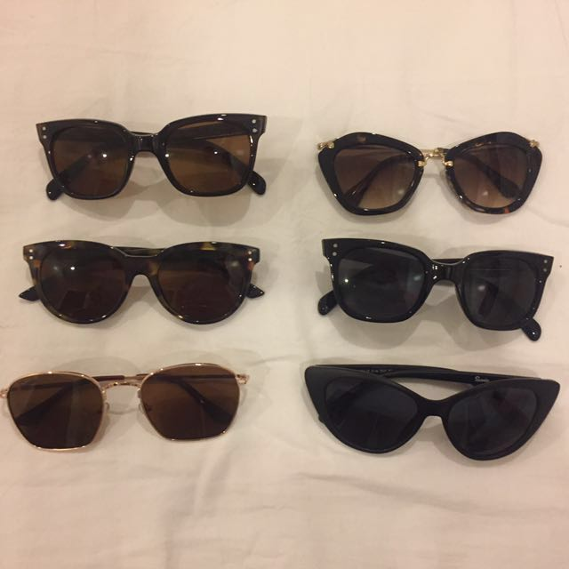 Assorted Sunnies w/ Cases ALL FOR 950