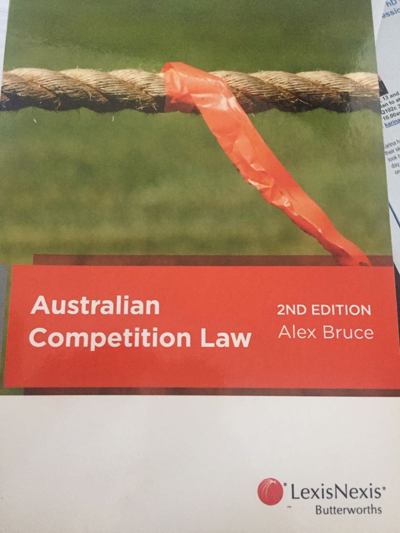Australian competition law text book