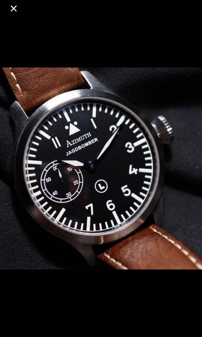 Azimuth Jagdbomber Pilot Watch