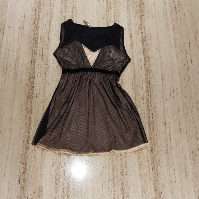 Babydoll lacey top