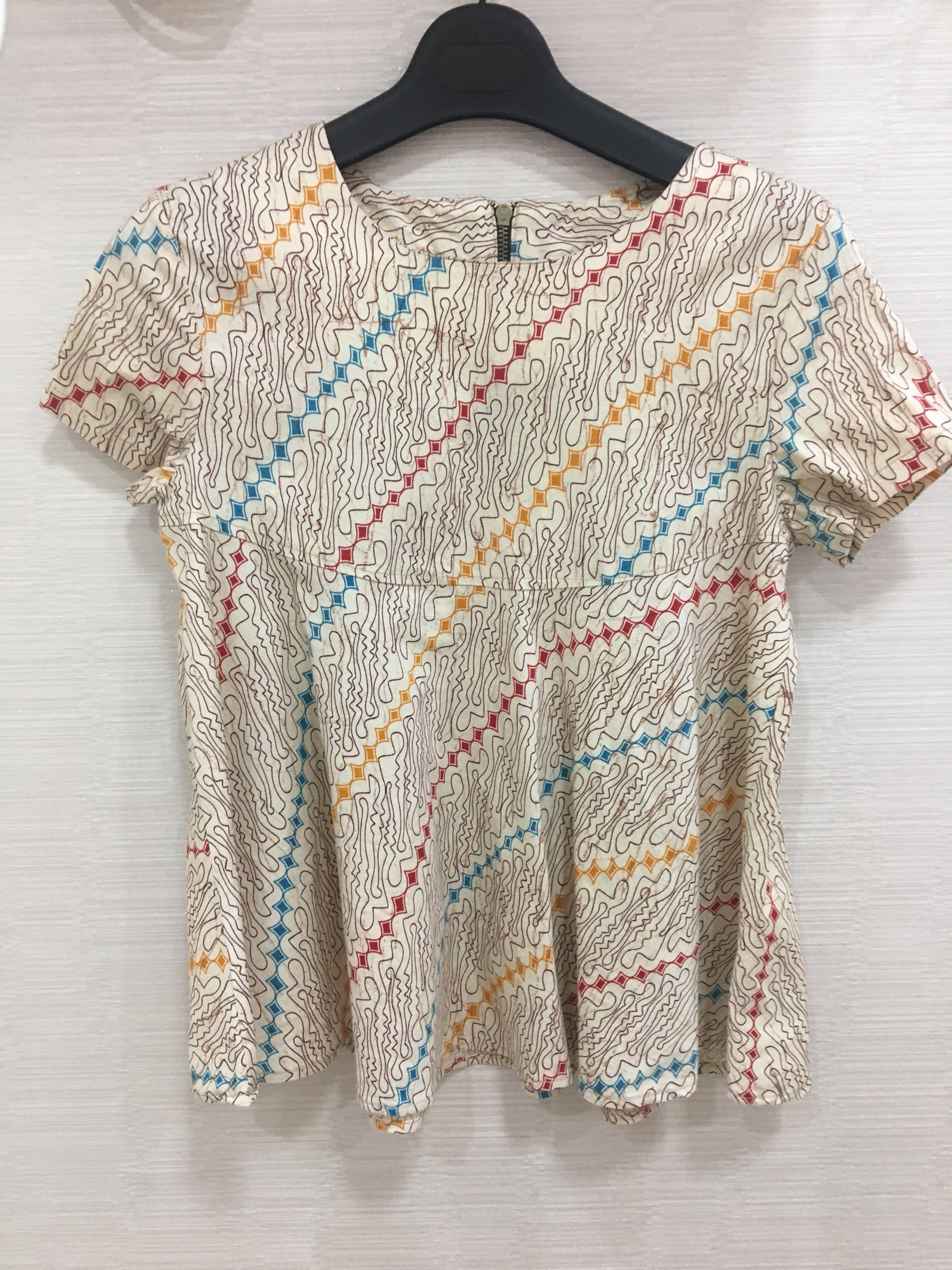 Batik Babydoll top