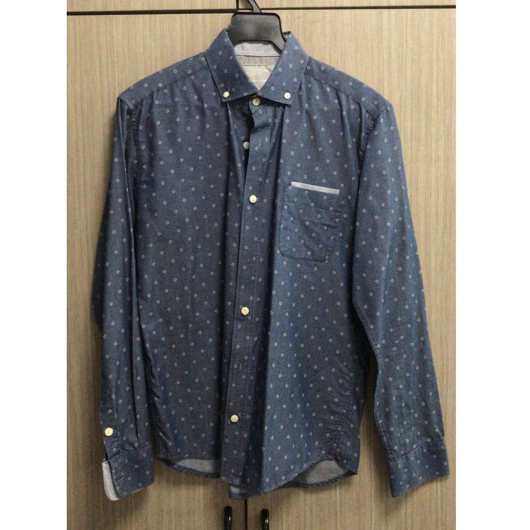 Benjamin Barker Tailor Fit Shirt, Men's Fashion, Clothes on