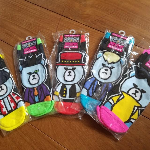 BIGBANG KRUNK聯名款襪子 VIP