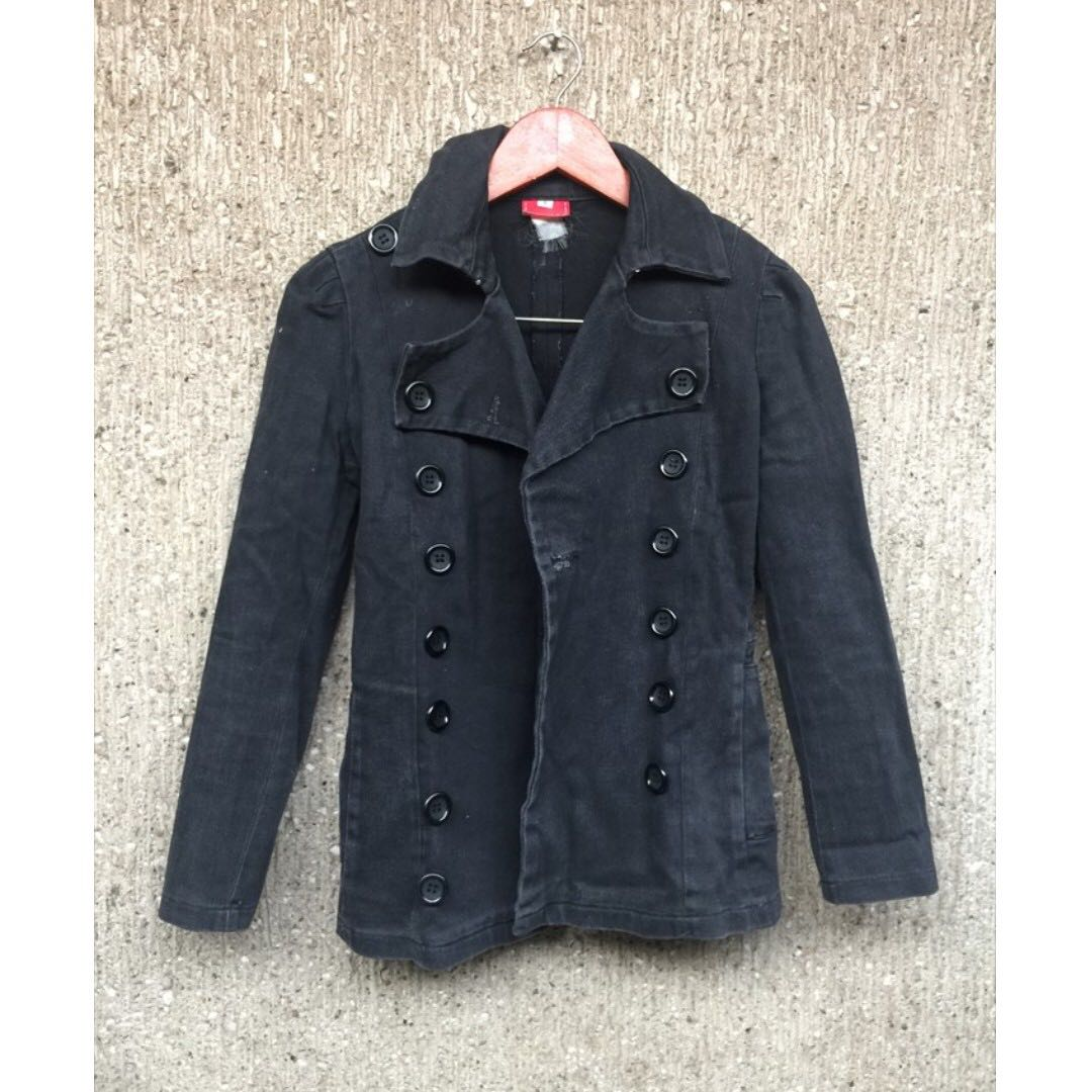 Black Outerwear Jacket