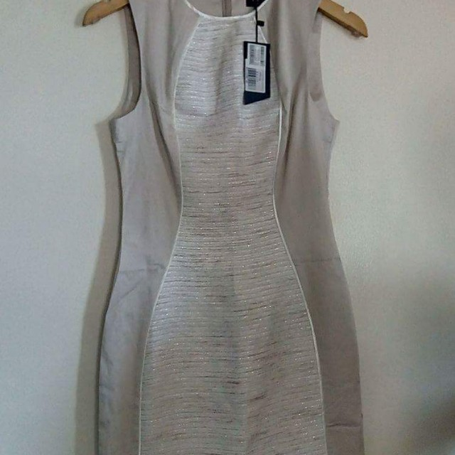 BNWT Ezra Cream Bodicon Classy Dress