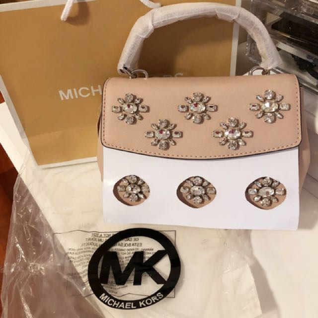 brand new MK small limited edition Ava bag