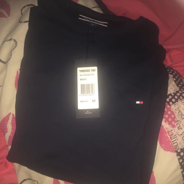 Brand New Navy Tommy Hilfiger T Shirt