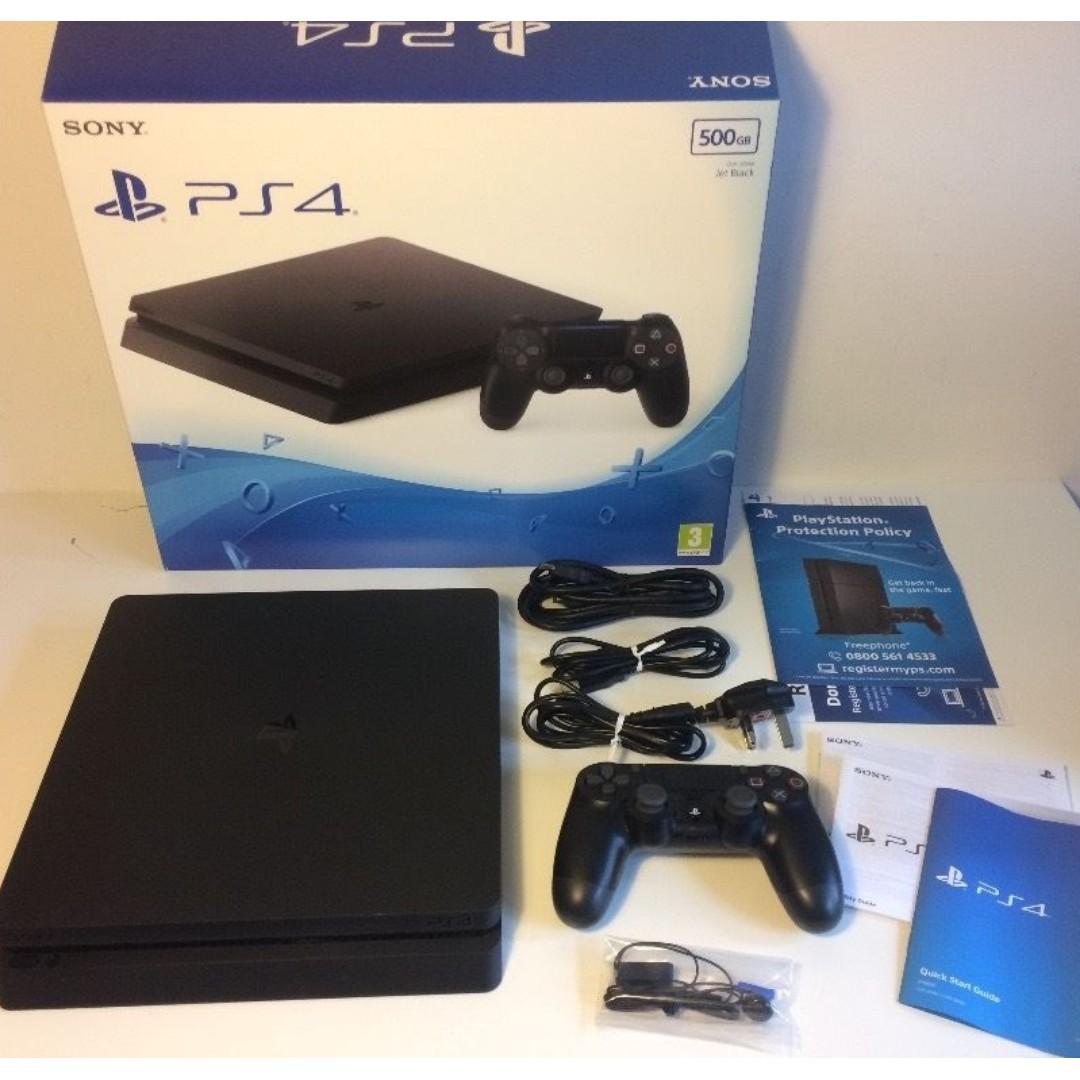 Brandnew PS4 SLIM 500gb JETBLACK RUSH!! 12K LAST PRICE