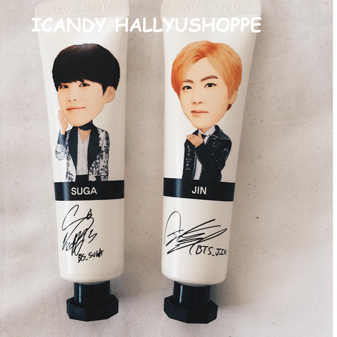 BTS OFFICIAL LIMITED EDITION HAND CREAM