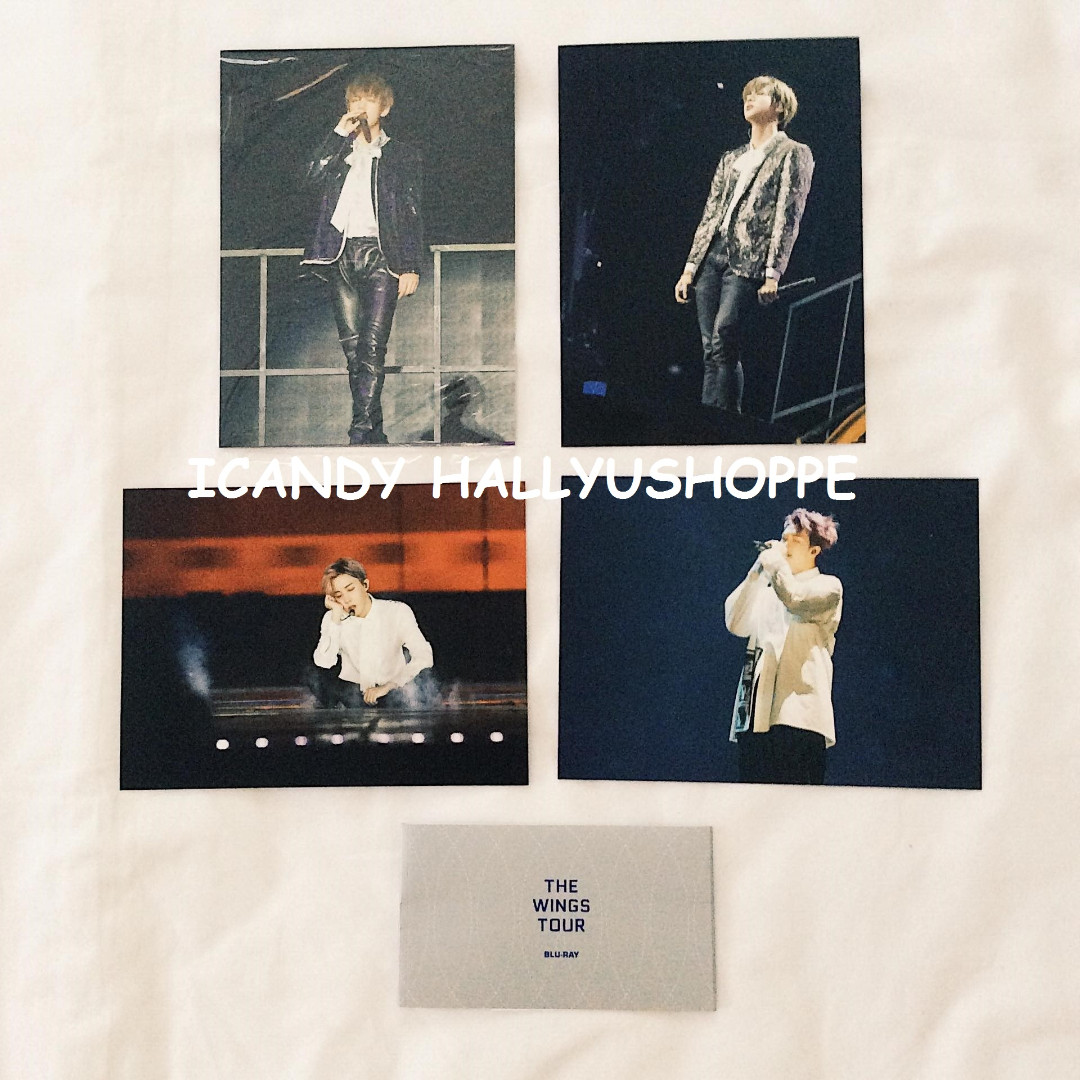 BTS THE WINGS TOUR in Seoul CONCERT Blu-ray Photocards