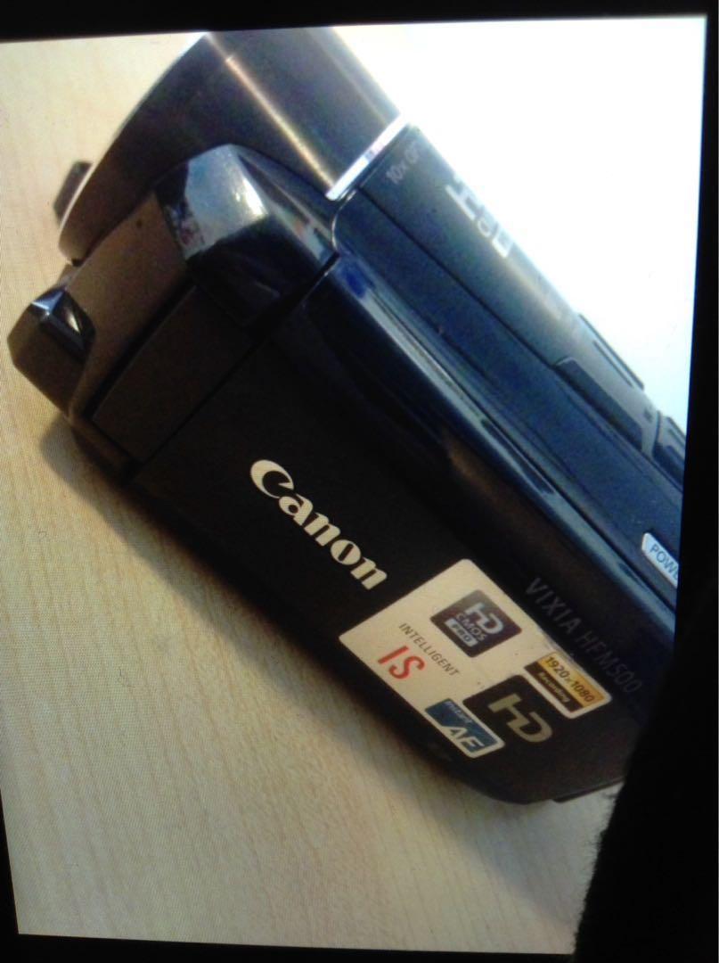 CANON VIXIA HFM500