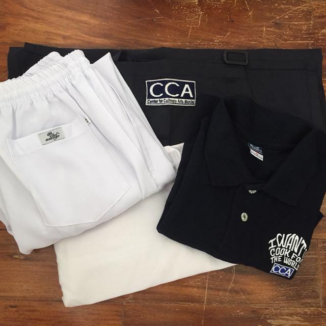 CCA Uniform Set 2 with FREE Chef Jacket