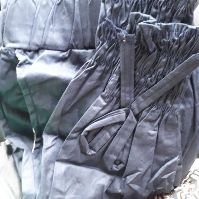 Celana joger kerut navy,black,grey
