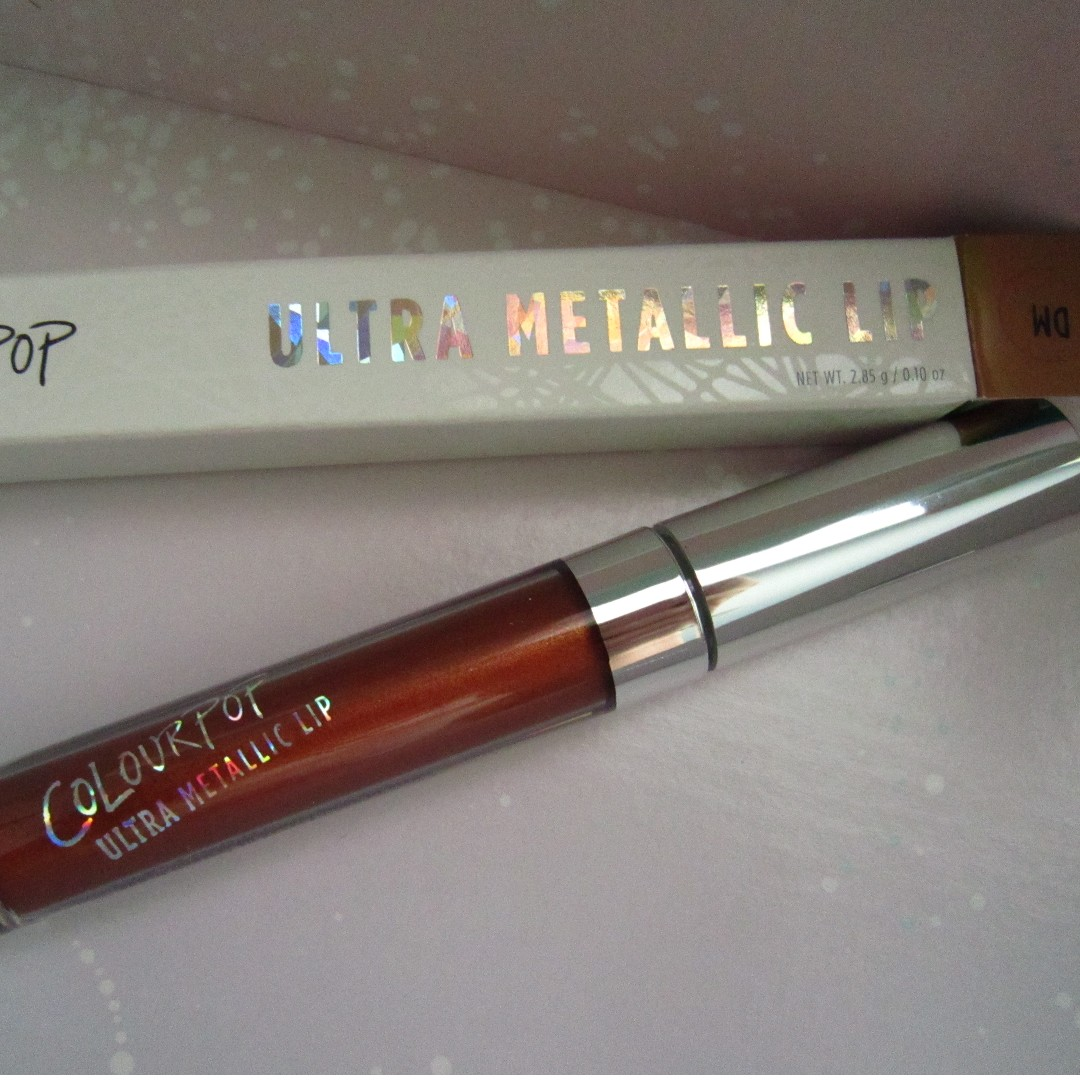 ColourPop Ultra Metallic Lip liquid Lipstick in DM (discontinue)