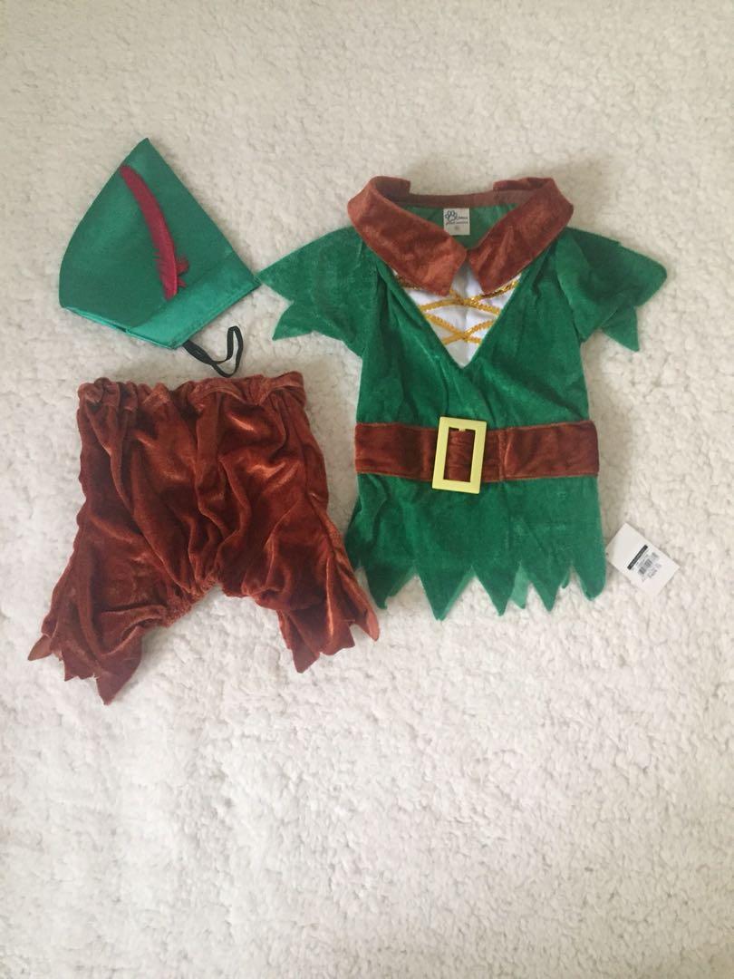 Dog Costume / Pet Costume / Peter Pan